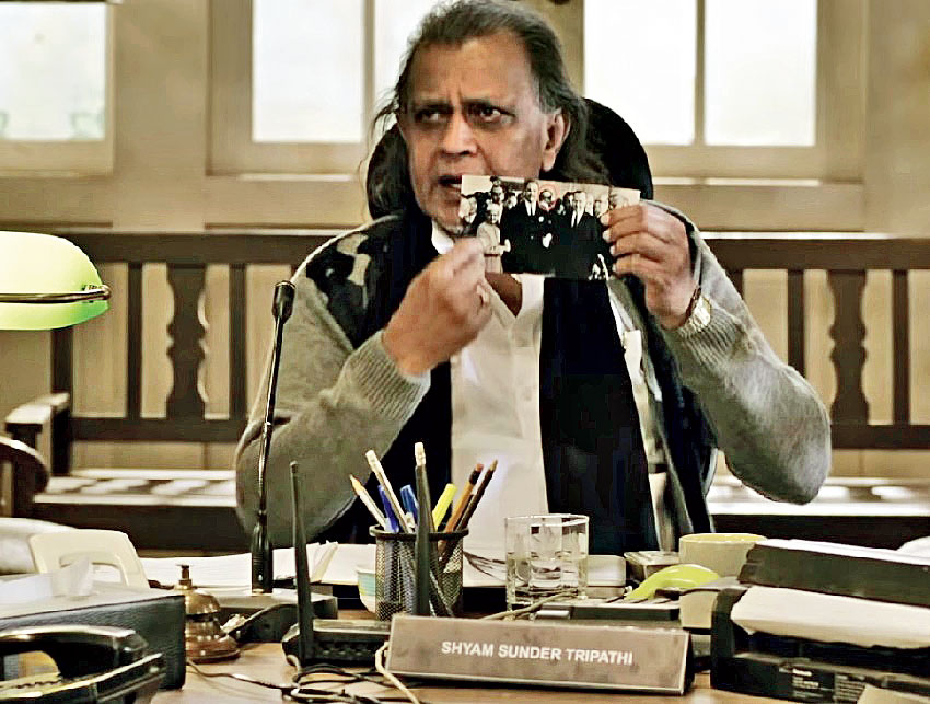 Mithun Chakraborty in 'The Tashkent Files'