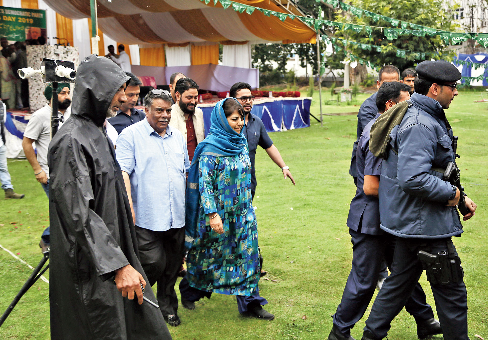Mehbooba Mufti plea: Don't play with dynamite