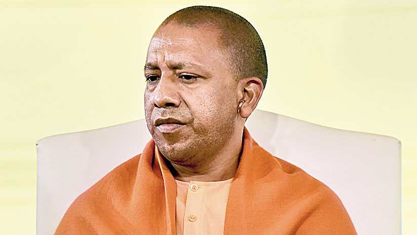"Yogi Adityanath merely said: ""It's true that we could have averted the massacre. Action will be initiated against the guilty officers after the revenue department submits its probe report."""