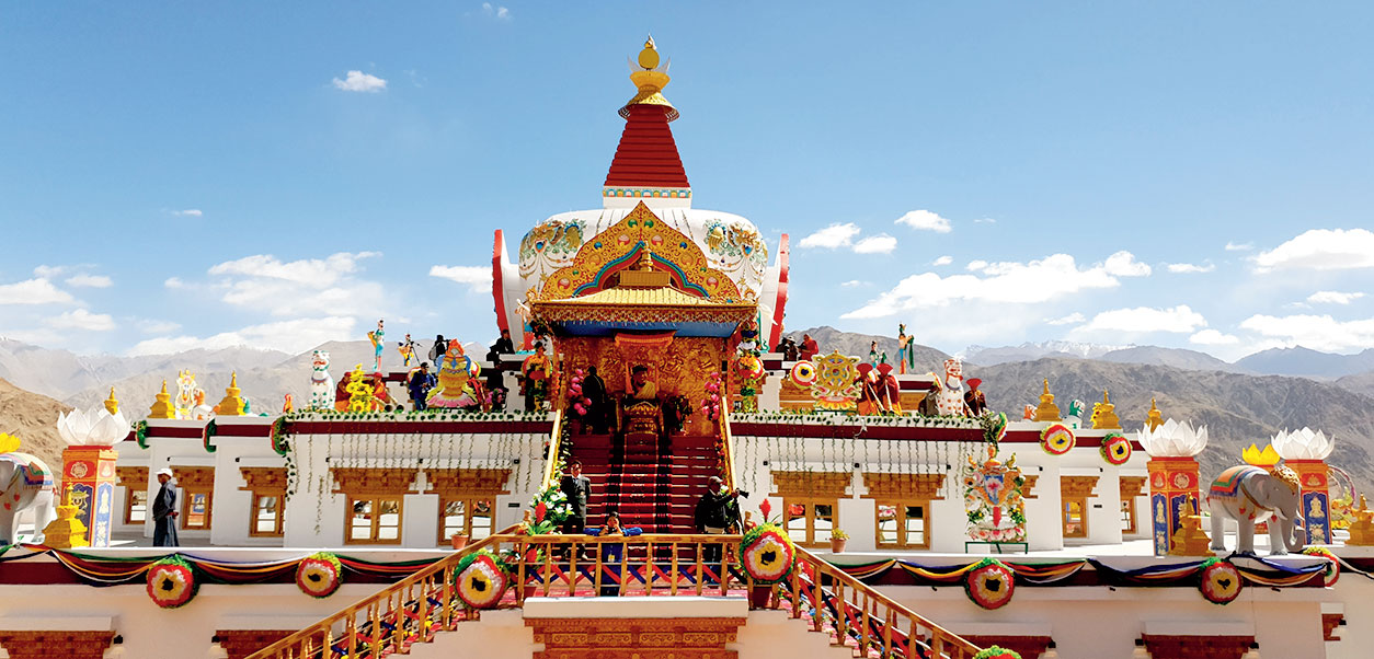 Lakhs of followers of the Drukpa sect come to Ladakh for the Naropa festival, known as the Kumbh of the region