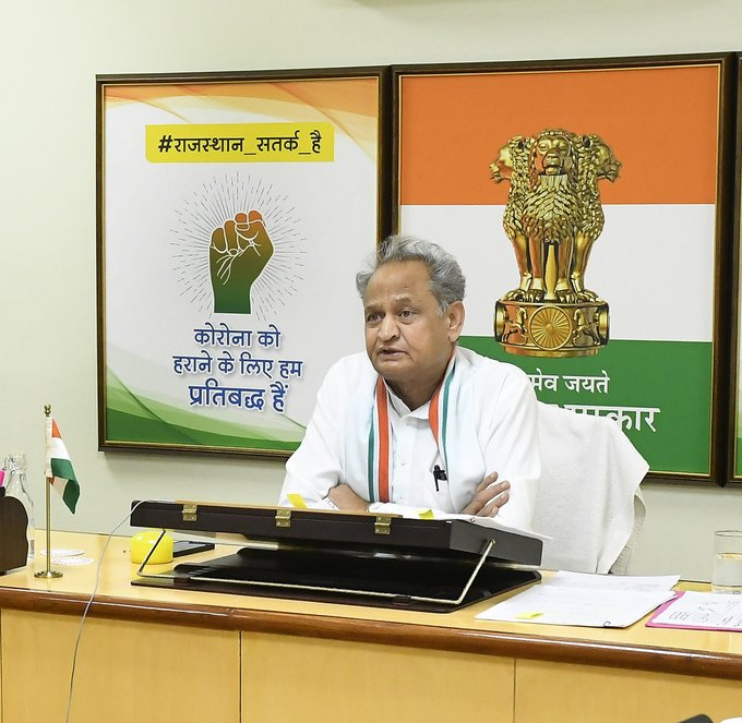 Rajasthan CM Ashok Gehlot did daily briefings for almost a fortnight and ensured he was on top of every move.