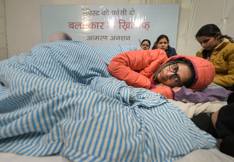 The chairperson of Delhi Commission for Women, Swati Maliwal, in New Delhi on Thursday