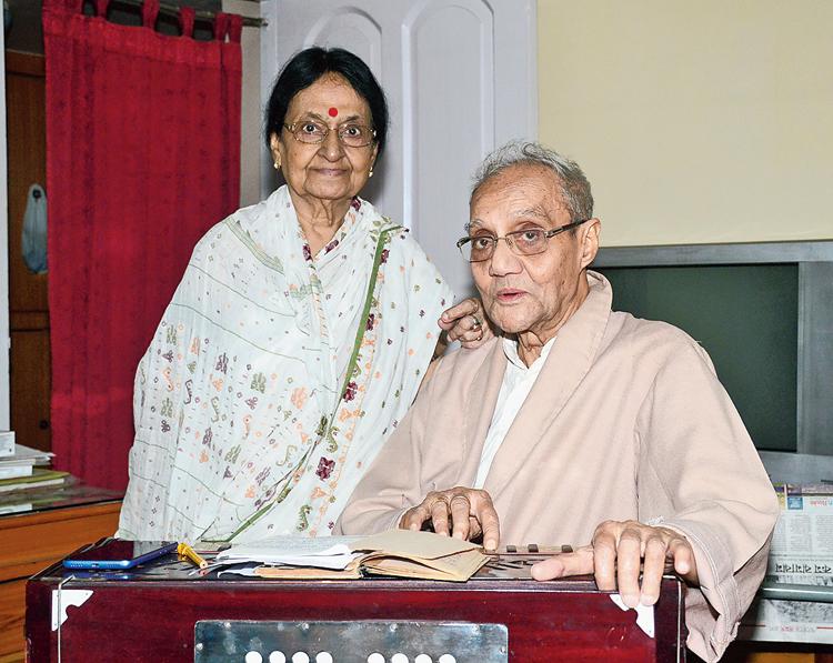 Santosh Kumar Ganguly: Age: 94 years (CK Block)