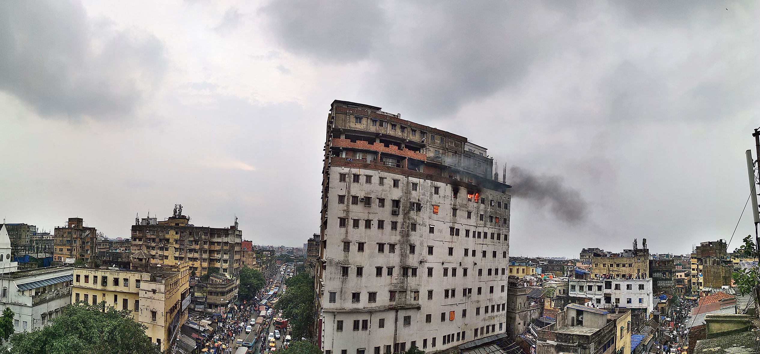 Fire revisits Nandaram Market, 11 years on