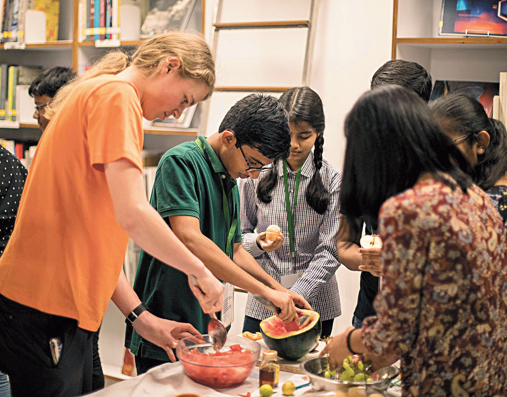 Hole truth: Participants at the four-day food hackathon organised at Calcutta's Max Mueller Bhavan