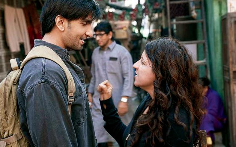 Zoya Akhtar with her Gully Boy man Ranveer Singh