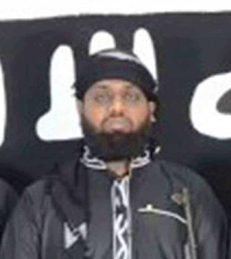 Zahran Hashim, head of extremist group National Tawheed Jamath