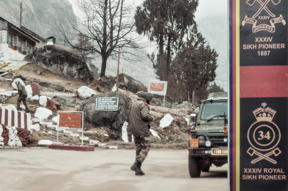 The paramilitary force protects India's 2,450km-long open borders with Nepal and Bhutan