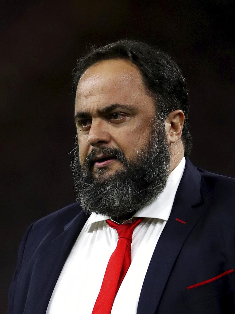 English football team Nottingham Forest majority owner Evangelos Marinakis