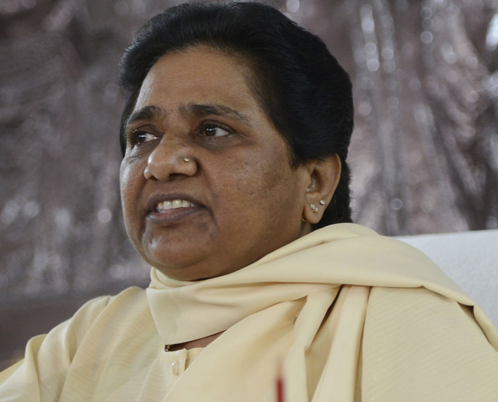 BSP president and former UP chief minister Mayawati