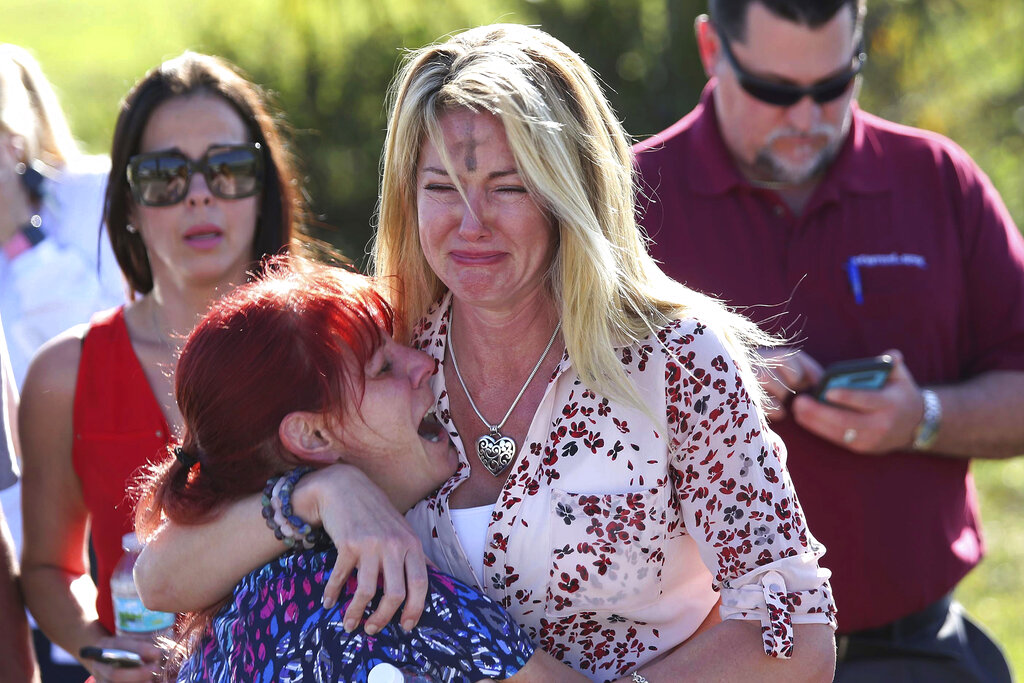 Two Parkland moms now divided over guns