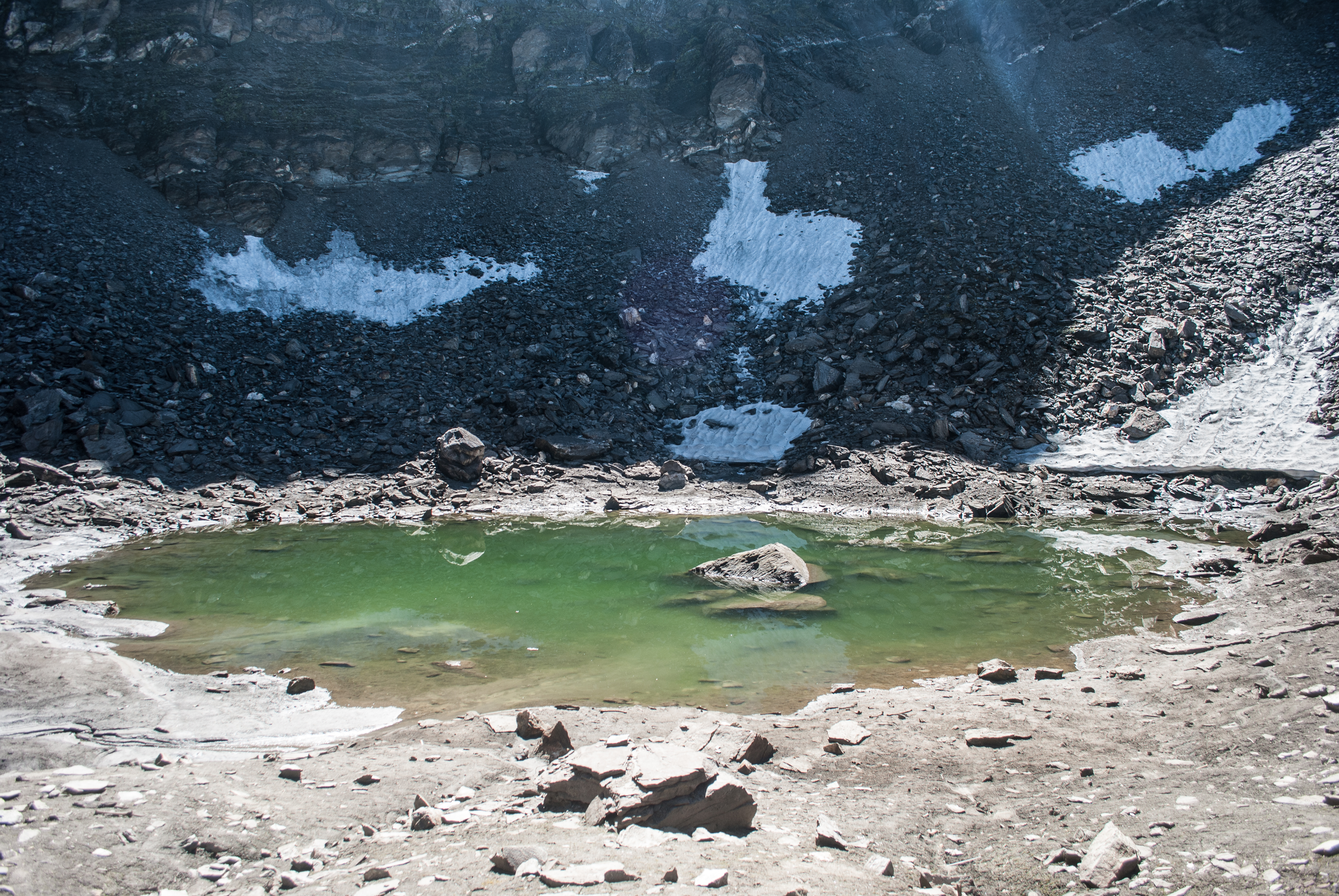 The Roopkund lake