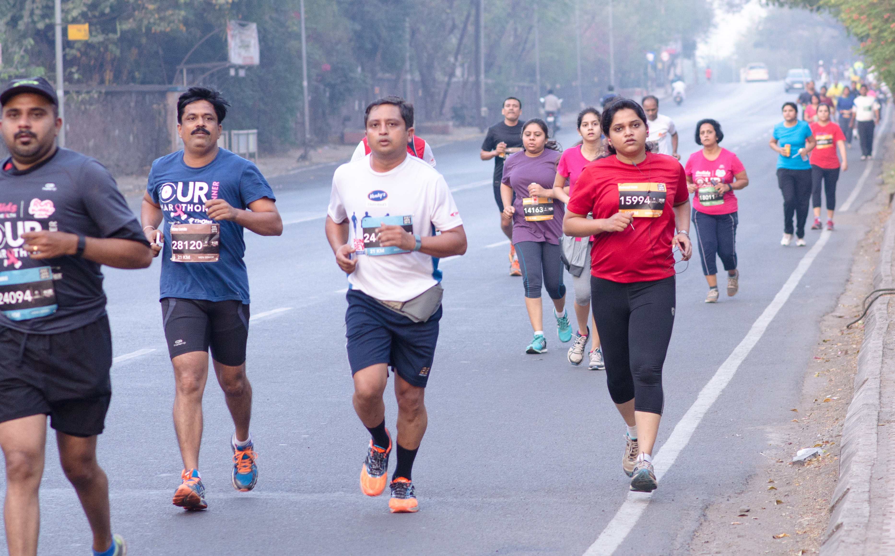 The 21km half-marathon will be a single-loop race from the City Centre to the Kolkata Gate in New Town and back
