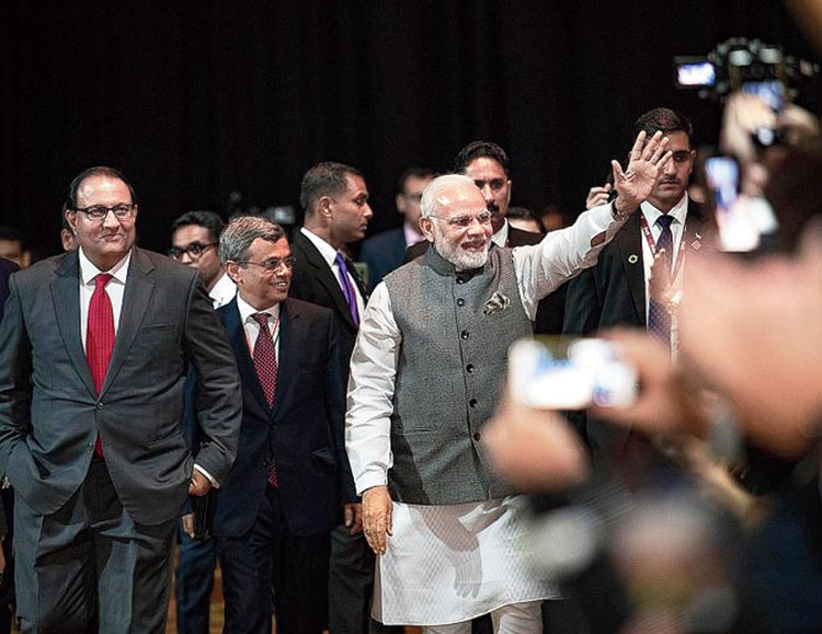 Enabling Narendra Modi: Then and now