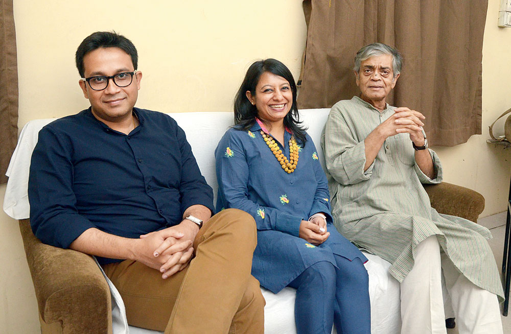 Premanka Goswami, Niti Kumar and Sandip Ray