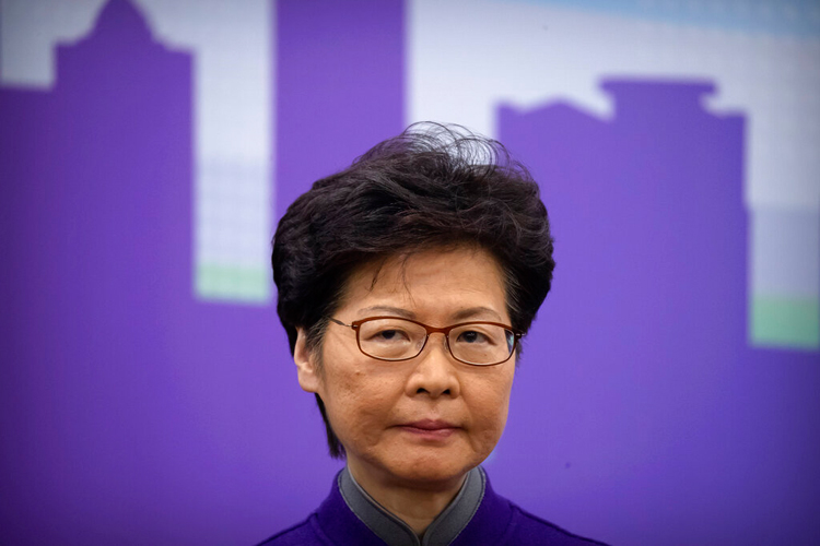 China is reportedly planning to replace Carrie Lam