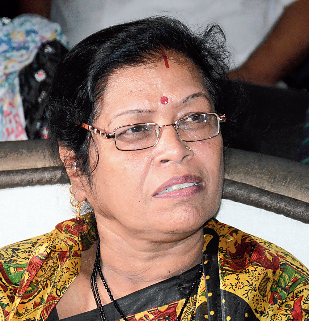 Kalyani Sharan, chairperson of Jharkhand State Commission for Women