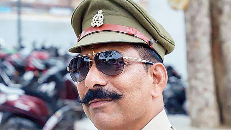 Inspector Subodh Kumar Singh, the officer who was killed by cow vandals in Bulandshahr, Uttar Pradesh, on December 3, 2018.
