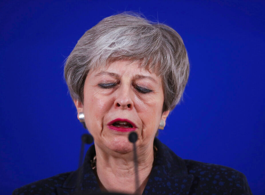 May under pressure to resign as PM