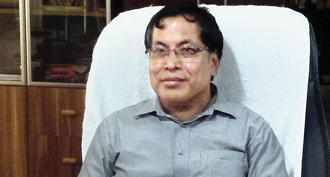 Manipur University vice-chancellor K. Yugindro