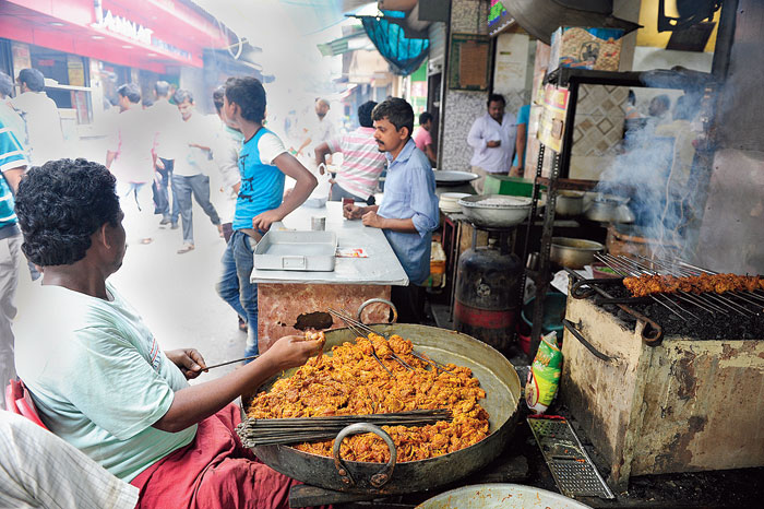 GUT FEELING: Lanes in central Calcutta that are still on the map of beef lovers in the city