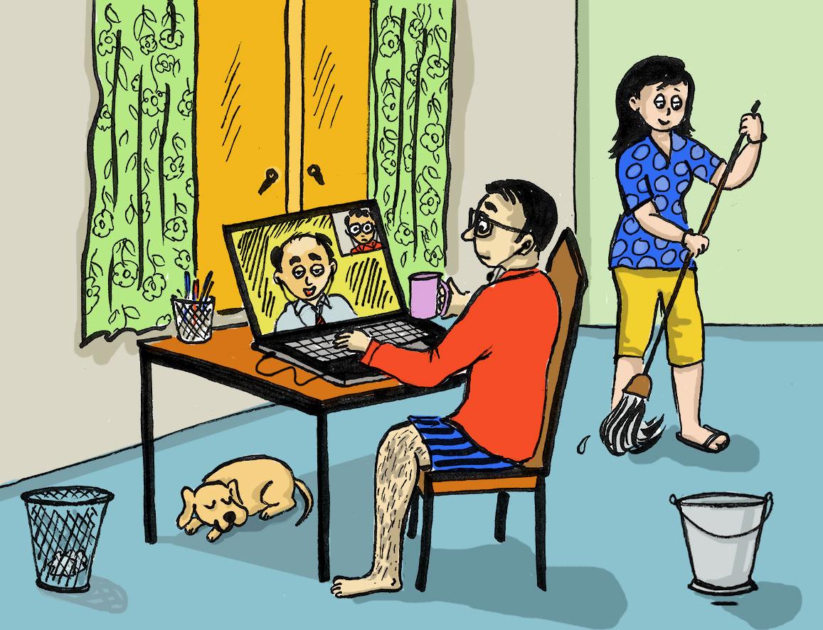 Dateline Lockdown: Work from home