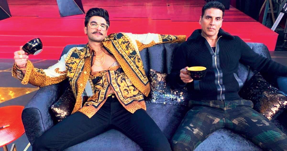 Akshay Kumar and Ranveer Singh.
