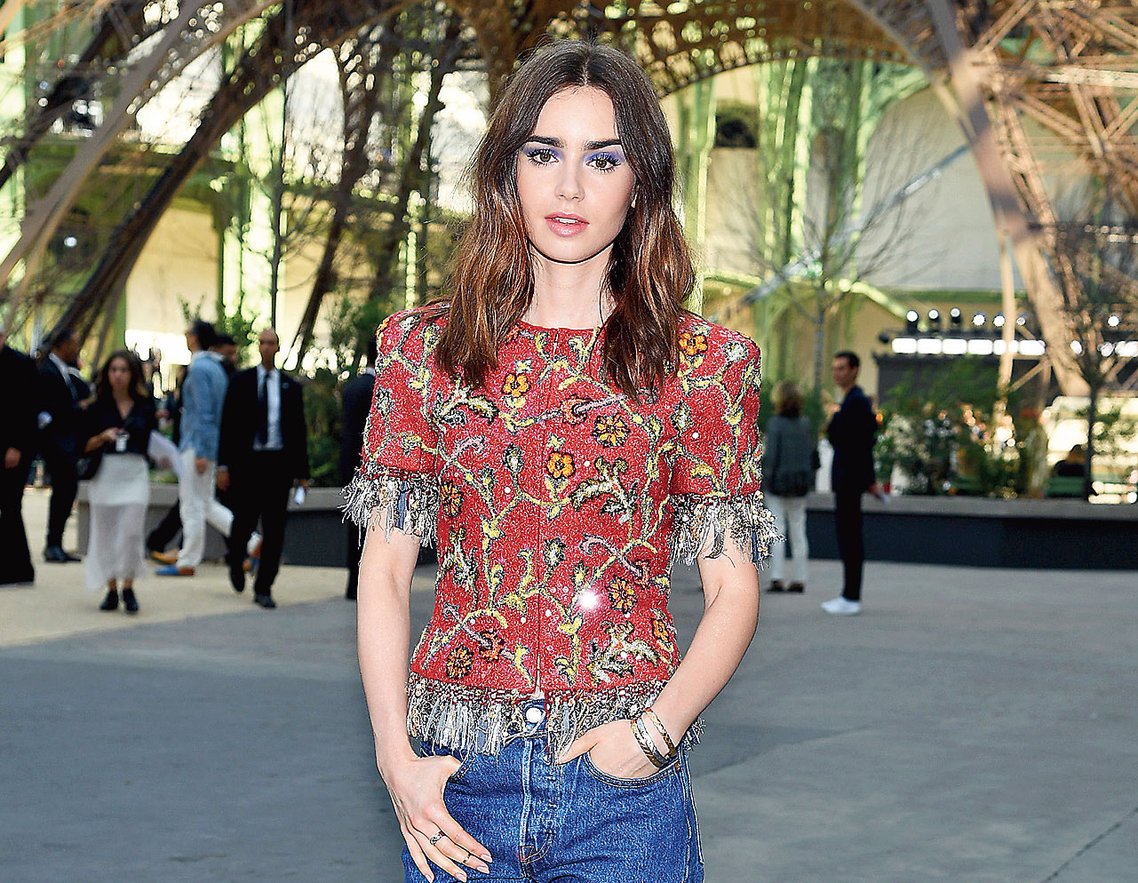 """Lily Collins: """"I suffered with eating disorders when I was a teenager""""  — The actress wrote in her book Unfiltered: No Shame, No Regrets, Just Me"""