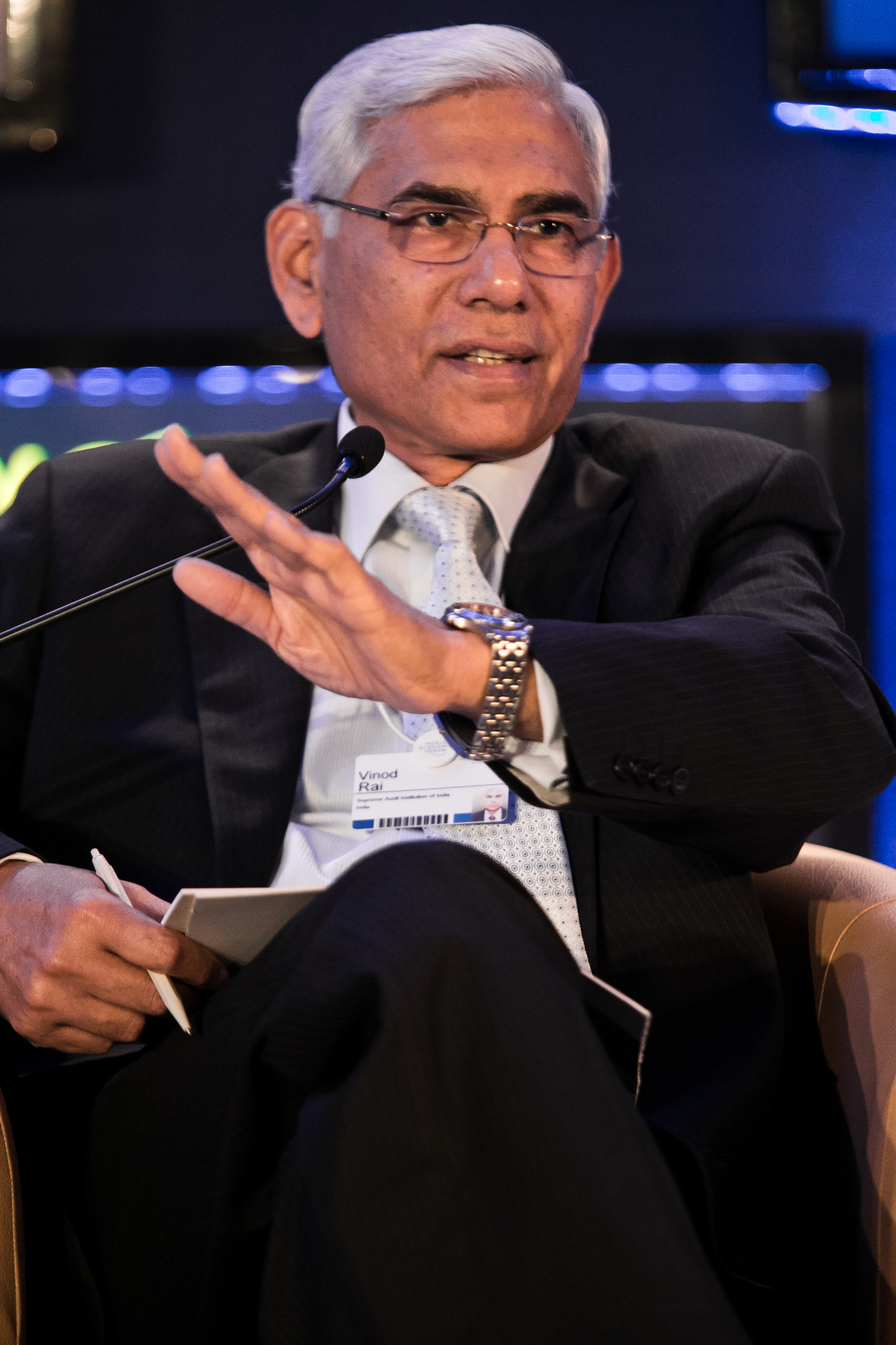 Vinod Rai, the head of the two-member Committee of Administrators appointed by the Supreme Court.