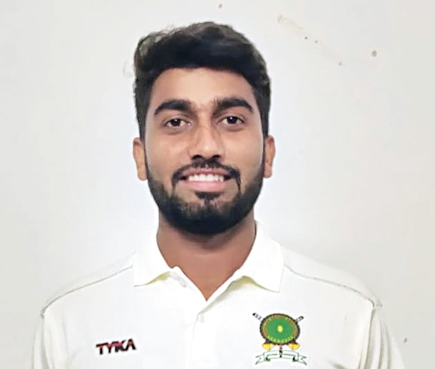 Meghalaya's Sanjay Yadav took nine for 89.