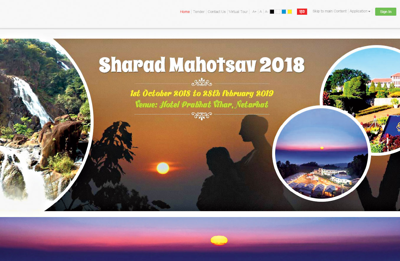 The revamped tourism website