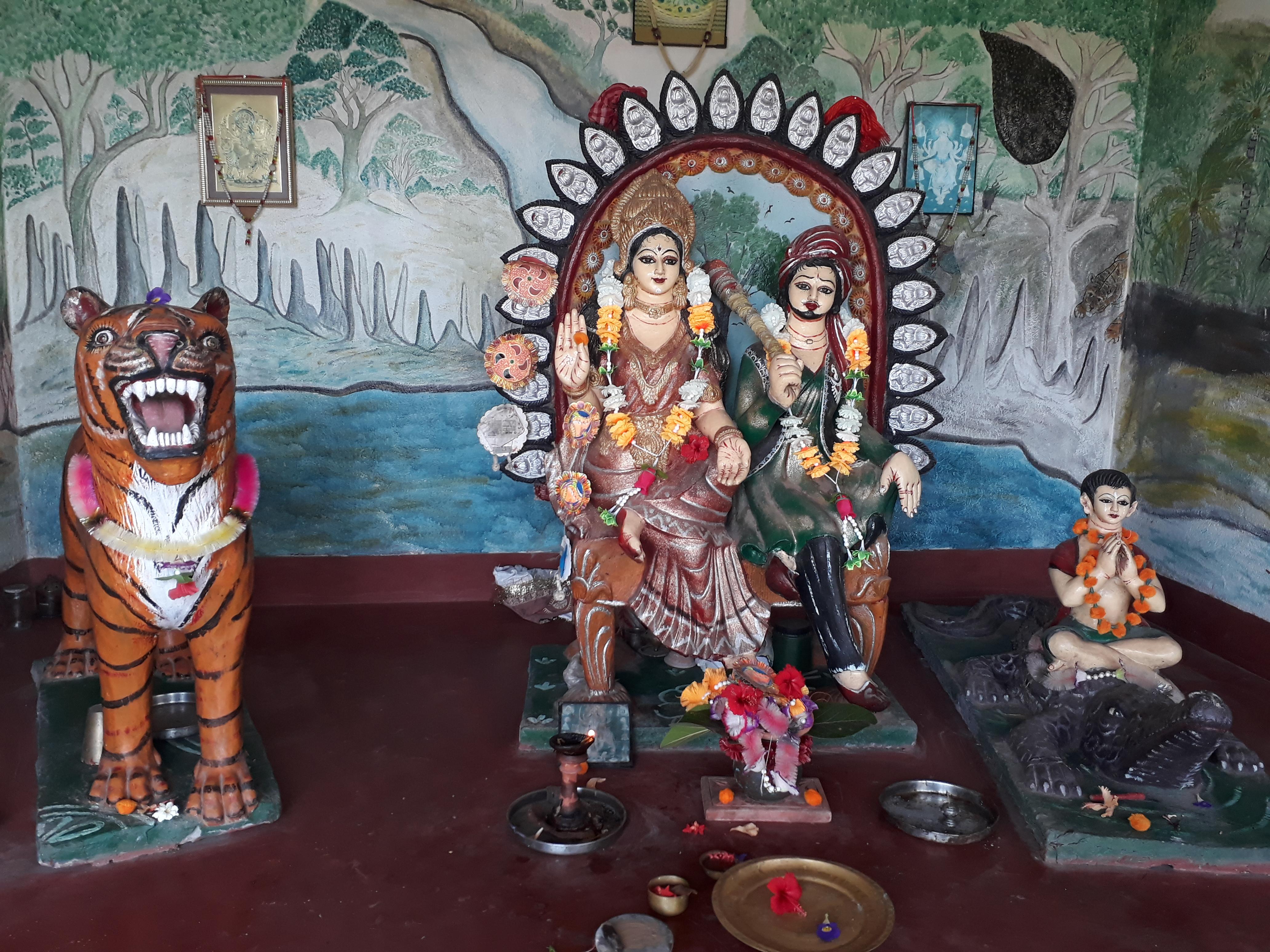 Bonbibi in Dayapur temple, Sunderban