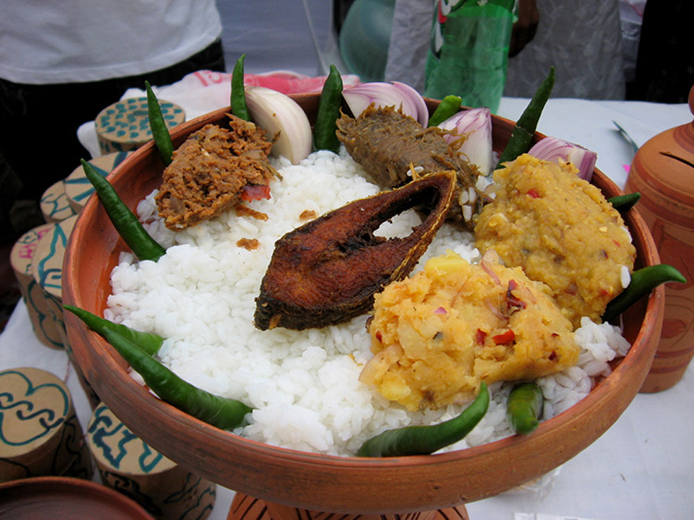 Today, of course, panta bhaat has made its way to posh restaurant menus, especially during Bengali New Year