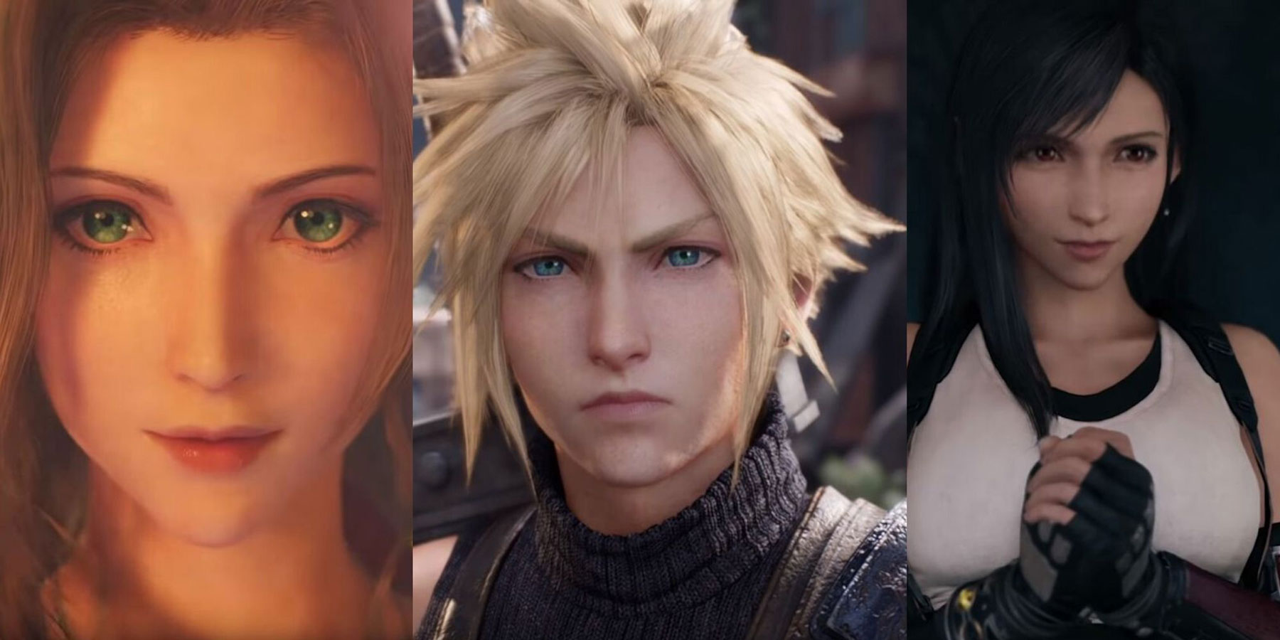 Aerith, Cloud and Tifa are coming back in a Final Fantasy VII remake
