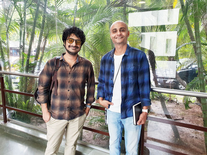 Brothers Rohit (left) and Manil Gupta, the duo behind The Creative Indians