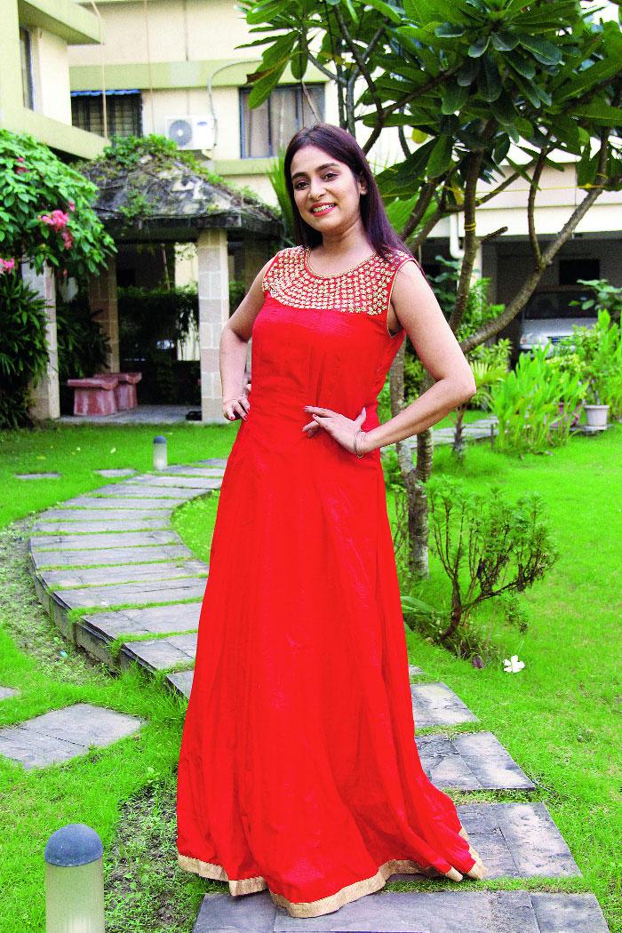 Samraggi Mukherjee at her Eden Tolly apartment complex