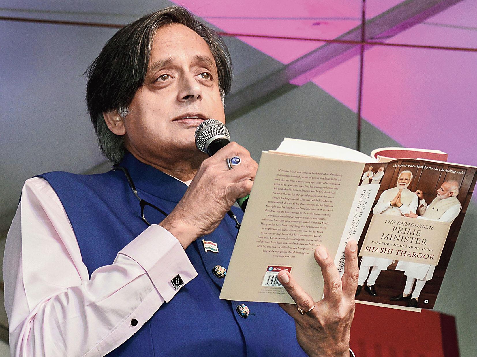 BJP aims Tharoor gun at 'Shiv bhakt' Rahul