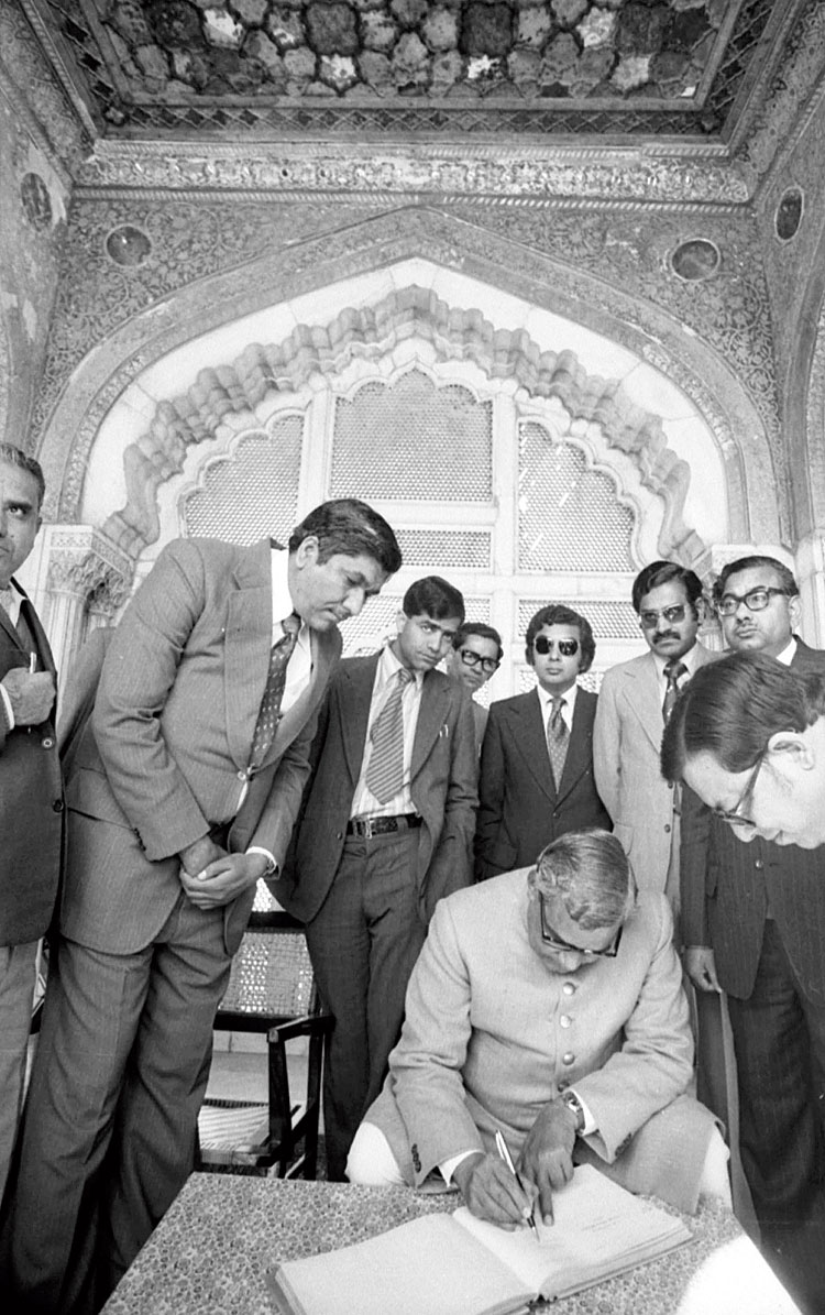 Rai recorded former Prime Minister Atal Behari Vajpayee's trip to Pakistan