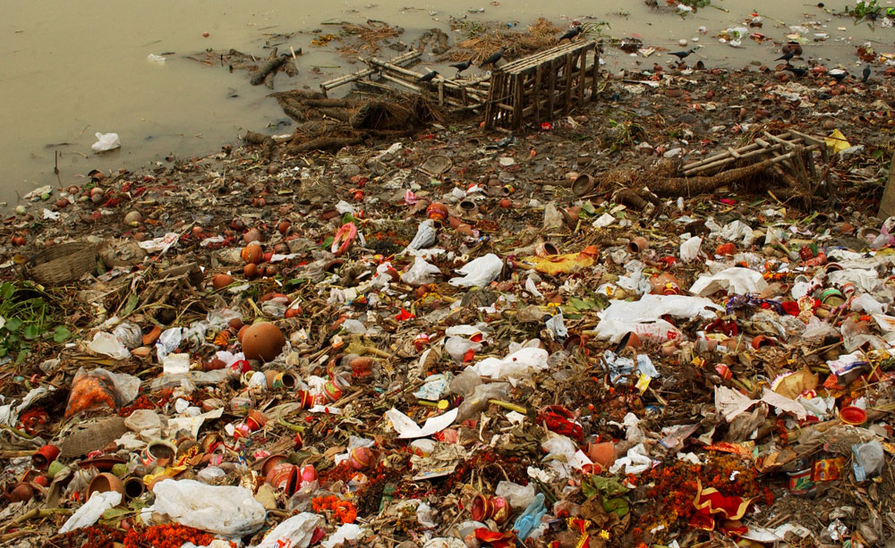 Uttar Pradesh borders one of the filthiest stretches of the Ganga