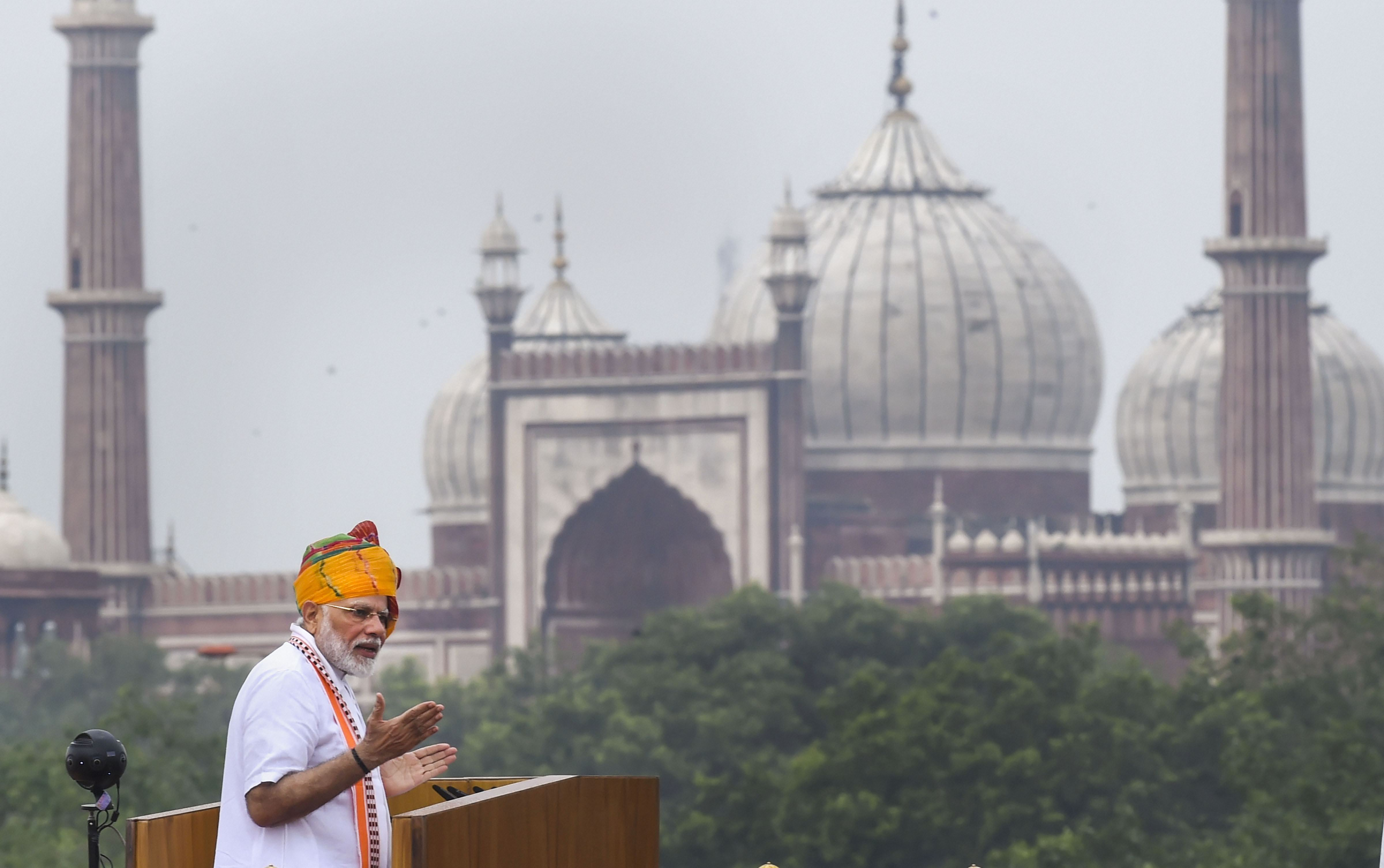Modi's announcements: Chief of defence staff and piped water plan