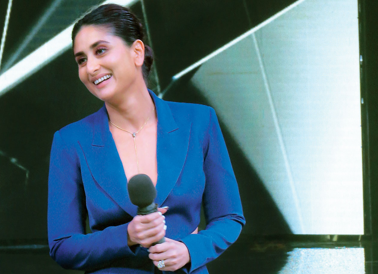 Kareena Kapoor Khan at the Dance India Dance launch in Mumbai recently