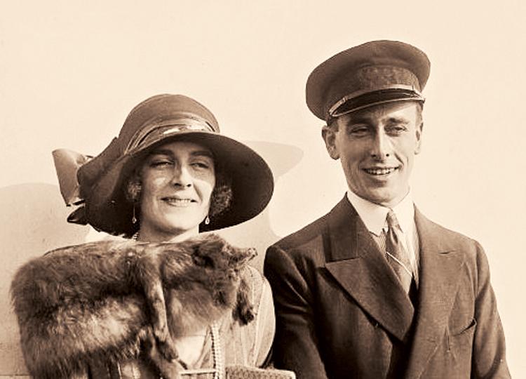 Edwina and Louis Mountbatten