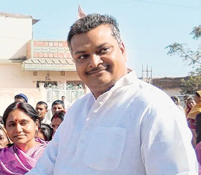 BJP candidate Manish Jaiswal