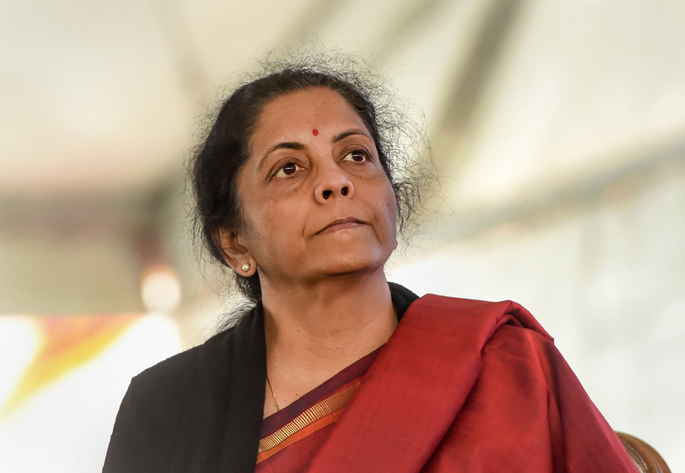 Finance minister Nirmala Sitharaman will present her second full budget