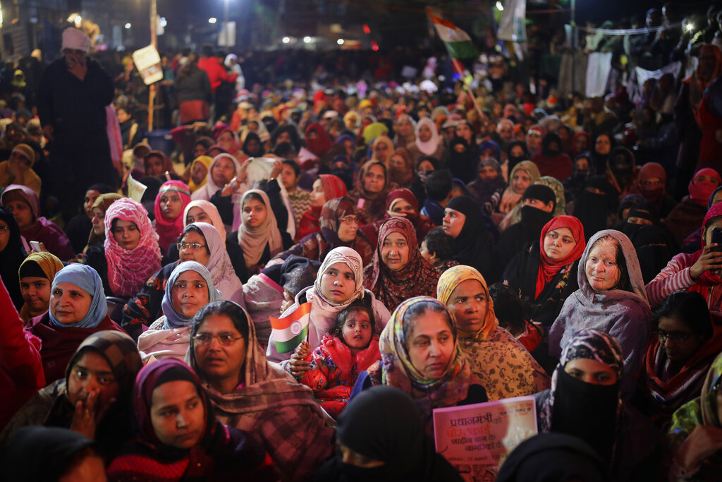 Shaheen Bagh had put up a token protest of only 5 women, responding to the call to stay indoors