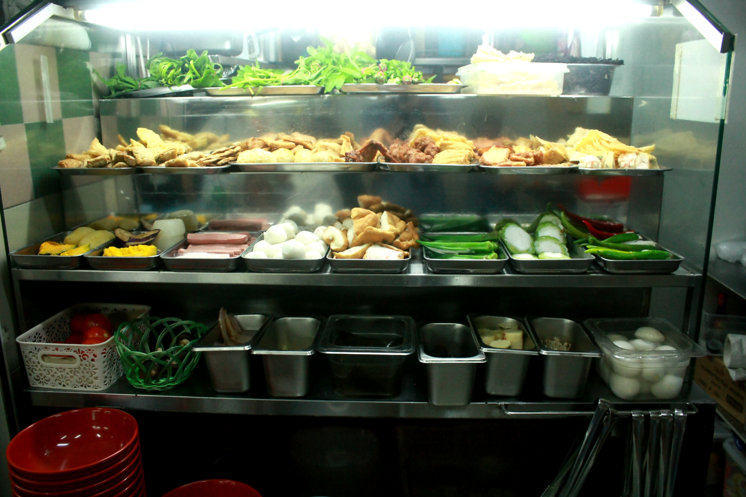 What takes you aback are the low prices – two full meals a day for less than S$10