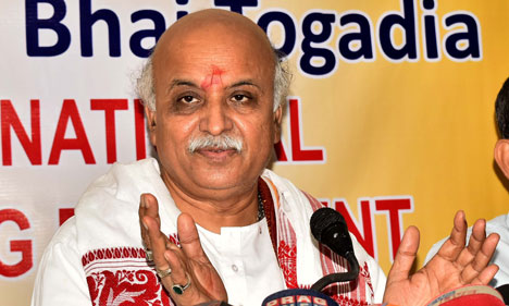 Former VHP president Pravin Togadia on Saturday welcomed the Supreme Court verdict in the Ram Janmbhoomi-Babri Masjid land dispute case, saying the apex court's order giving Ram Lala's birth land for Ram Temple is a salute to the sacrifice of lakhs of workers