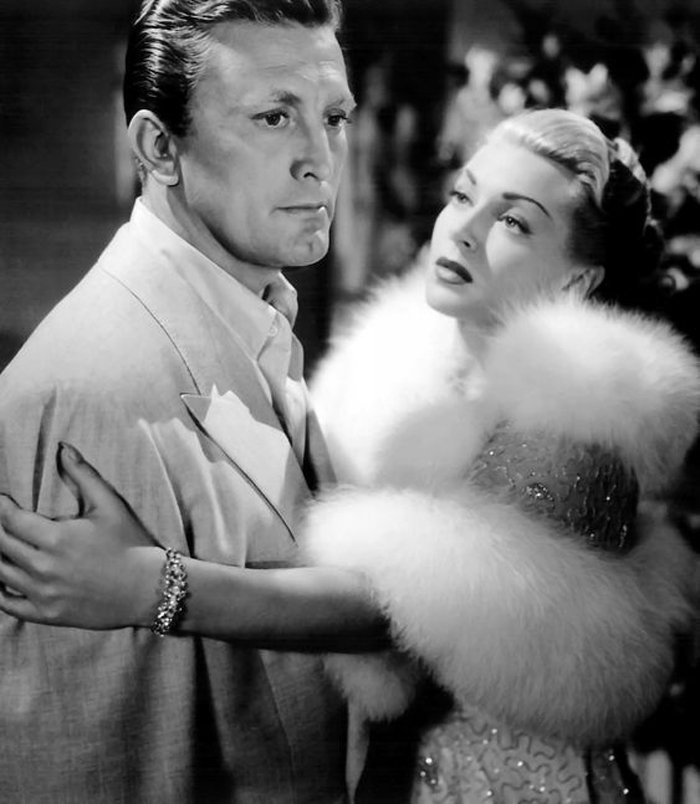 Kirk Douglas and Lana Turner in Vincente Minnelli's The Bad and the Beautiful (1952)