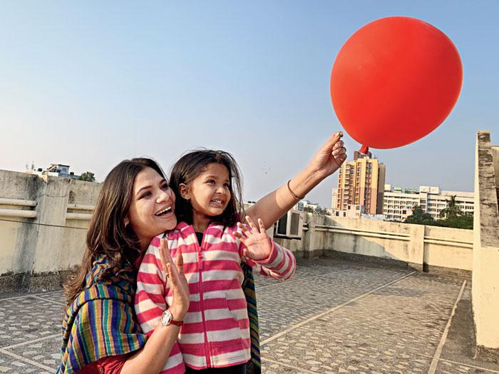 Sudipta and her daughter Shahida