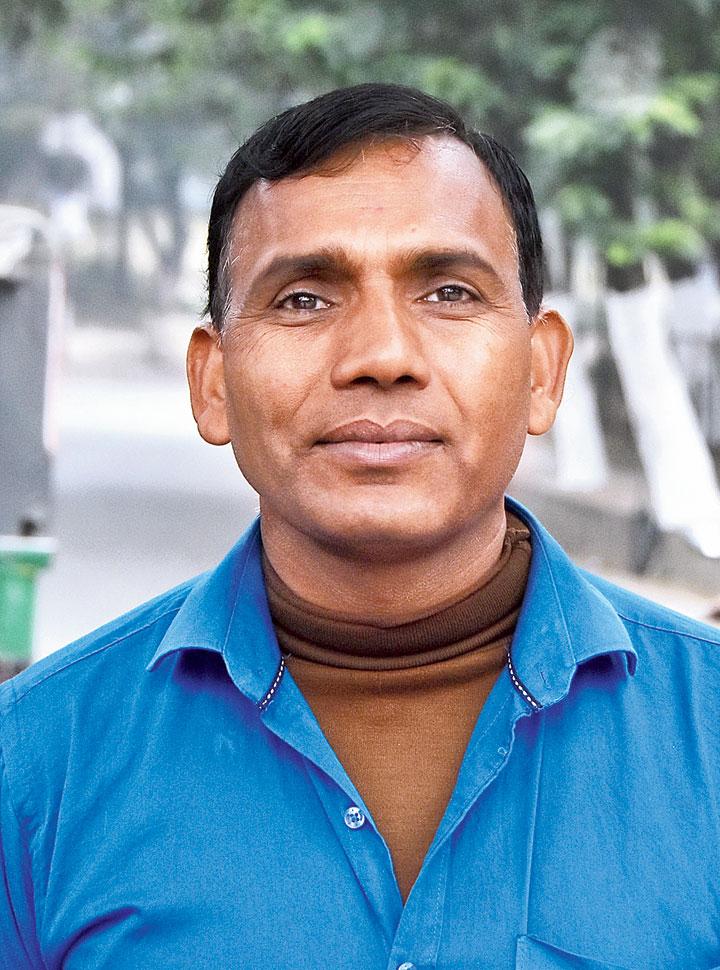 Balmukund Sao, 40, auto driver